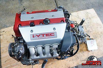 Jdm K20a 02 05 Honda Acura Rsx Dc5 K20 Type R Engine 6 Speed Manual Trans Ecu