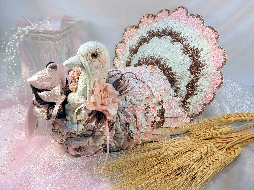 Thanksgiving turkey decor - Thanksgiving Turkey Decor Centerpiece By Willowtreeloft On Etsy