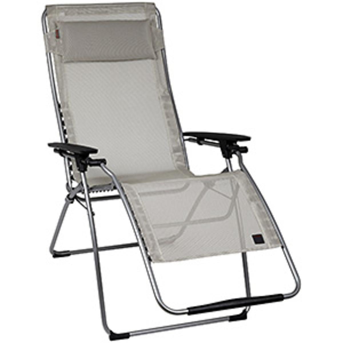 Futura Clipper XL MESH Zero Gravity Recliner   Seigle With Grey Frame    Travel Reflexology Chair