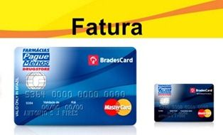 Fatura Cartao Pague Menos Mastercard Nacional