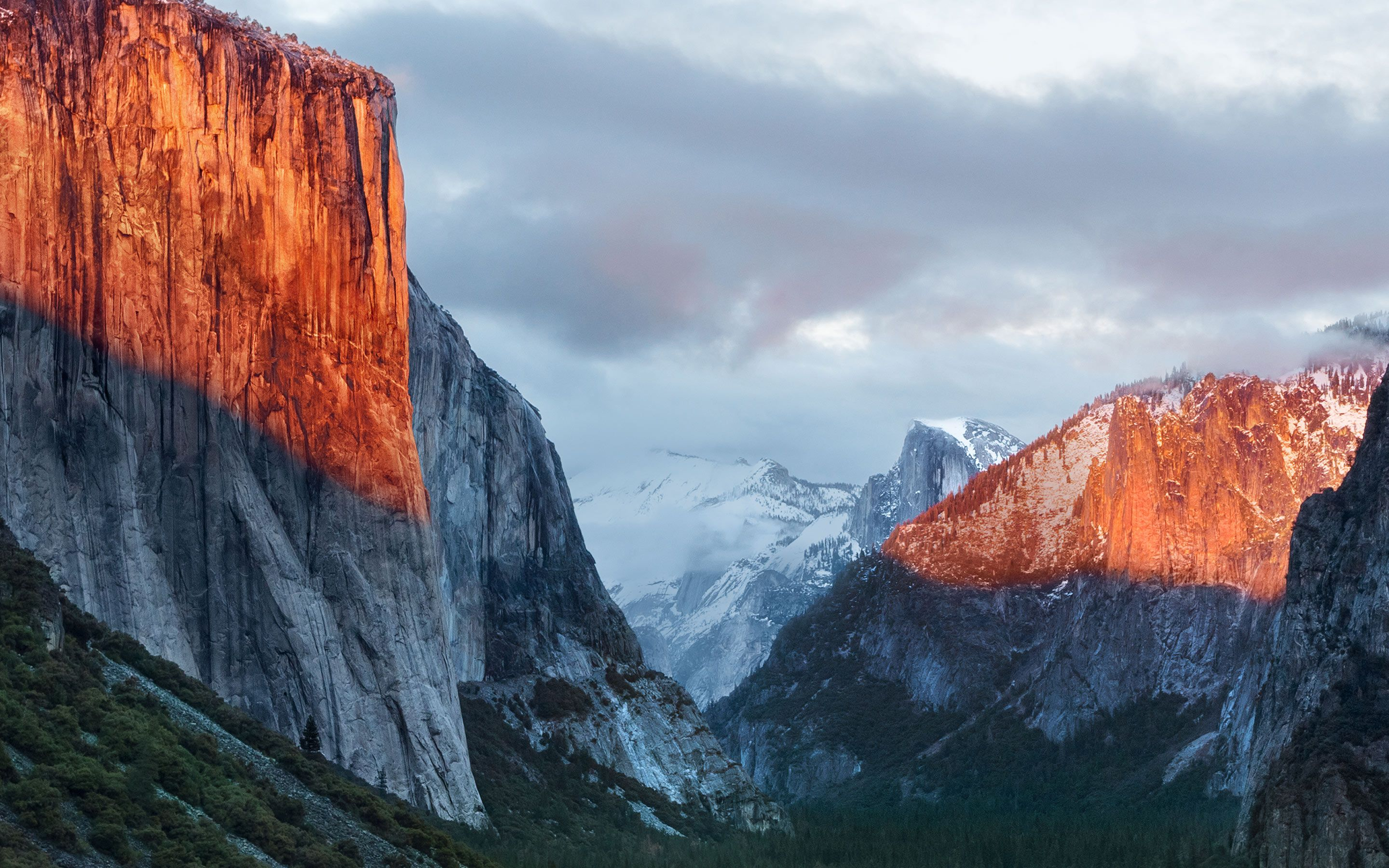 OS X El Capitan official wallpaper 2880×1800 Osx