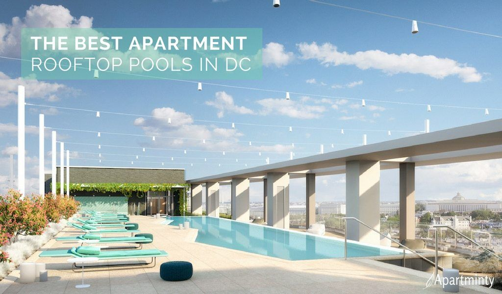 The Best Apartment Rooftop Pools In Dc Apartment Rooftop Cool
