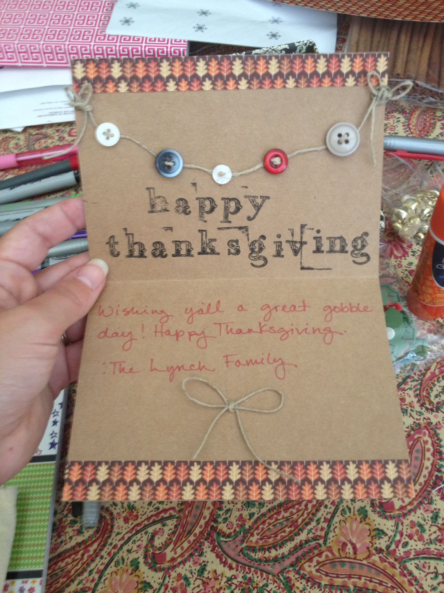 diy thanksgiving cards  diy thanksgiving cards