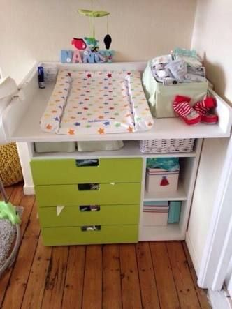 ikea stuva change table google search nursery ideas pinterest cambiador de bebe bebe. Black Bedroom Furniture Sets. Home Design Ideas