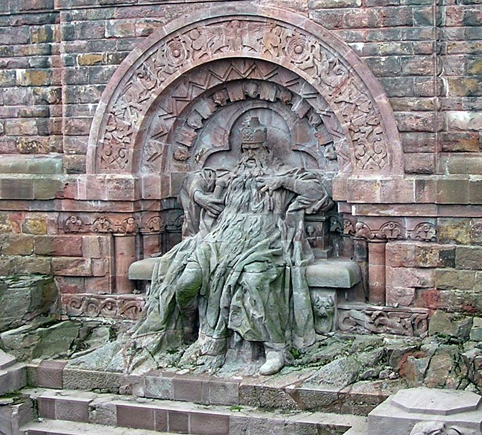 Kyffhauser Denkmal Barbarossa Denkmal Geschichte Historisch