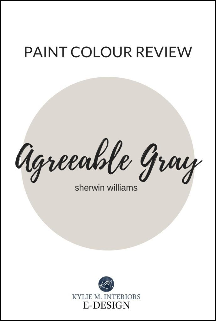 Paint Colour Review: Sherwin Williams Agreeable Gray SW 7029