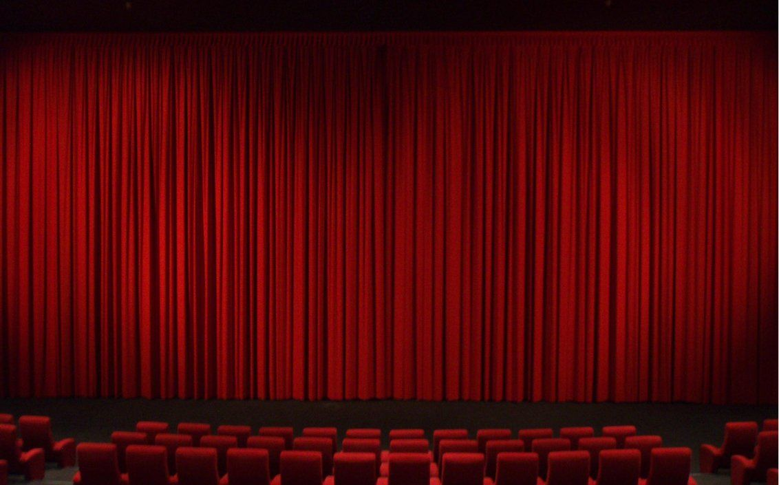 Red velvet curtains stage - Find This Pin And More On Art Curtains