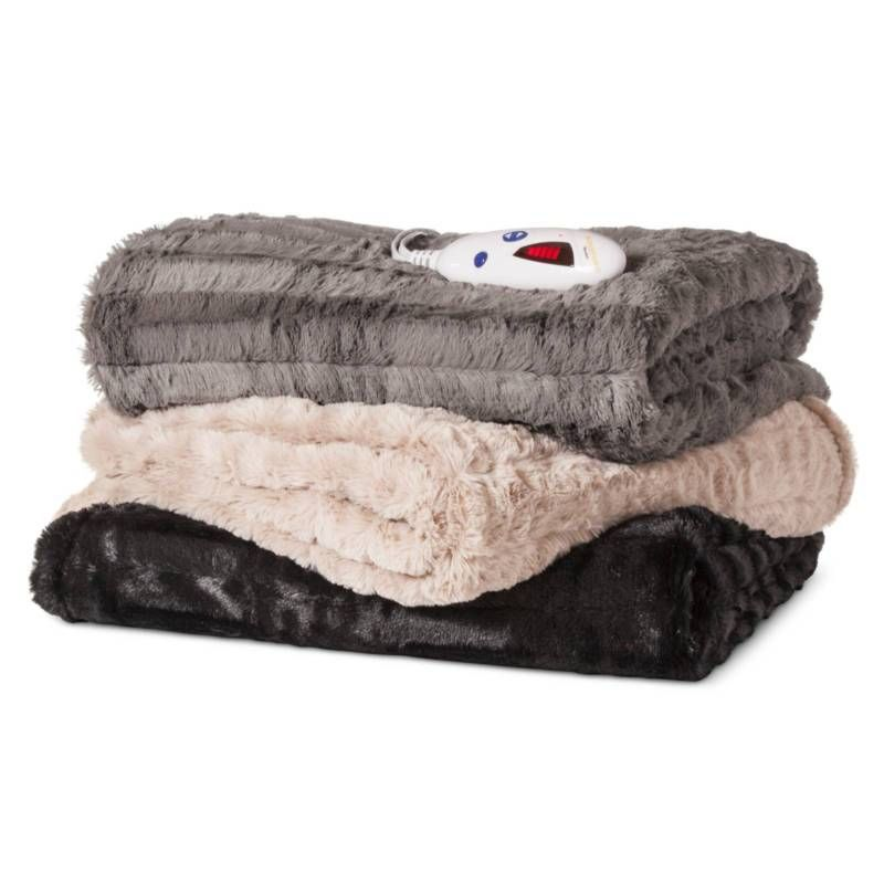 Biddeford heated faux fur throw target expect more pay