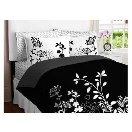 Moxie Vines Black And White Twin Xl Comforter Dorm Bedding Twin Xl Bedding White Comforter