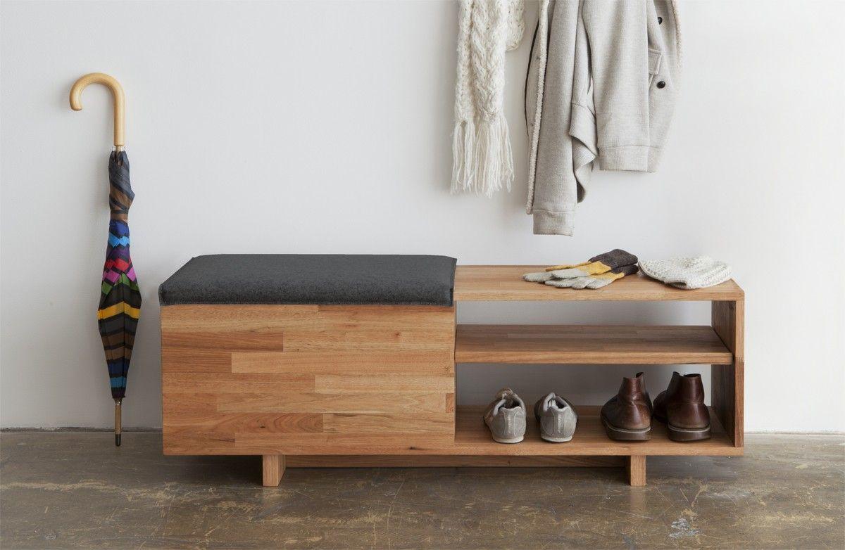 Mash studios lax storage bench