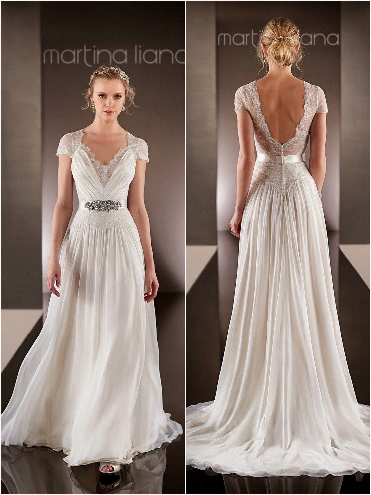 Martina Liana Wedding Dresses 2015 Wedding Dresses Knotsvilla Wedding Ideas Canada Wedding Blog Short Bridal Dress Short Sleeve Wedding Dress Cheap Lace Wedding Dresses