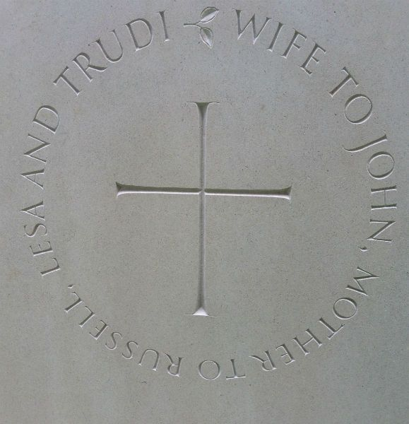 Cross Symbol On Headstone Headstones Pinterest Symbols And