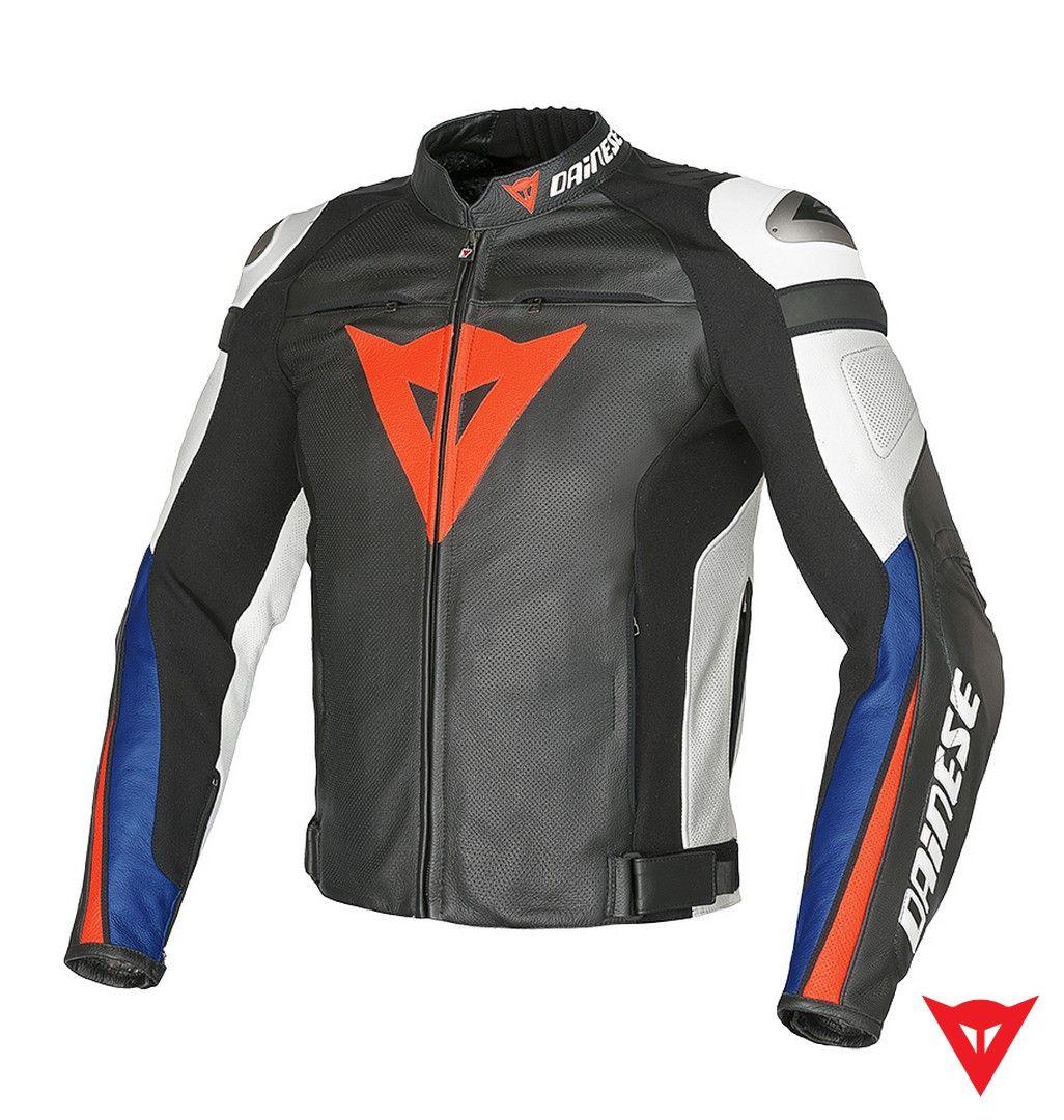 Dainese Leather Jacket Super Speed C2 Estivo Pelle front