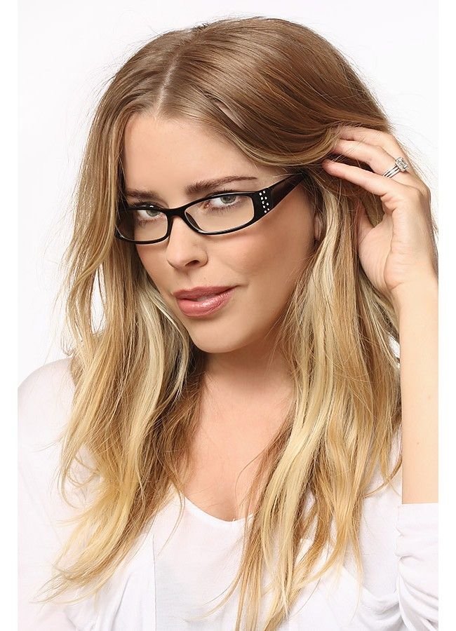 Park Place Skinny Clear Glasses | Clear glasses, Glasses