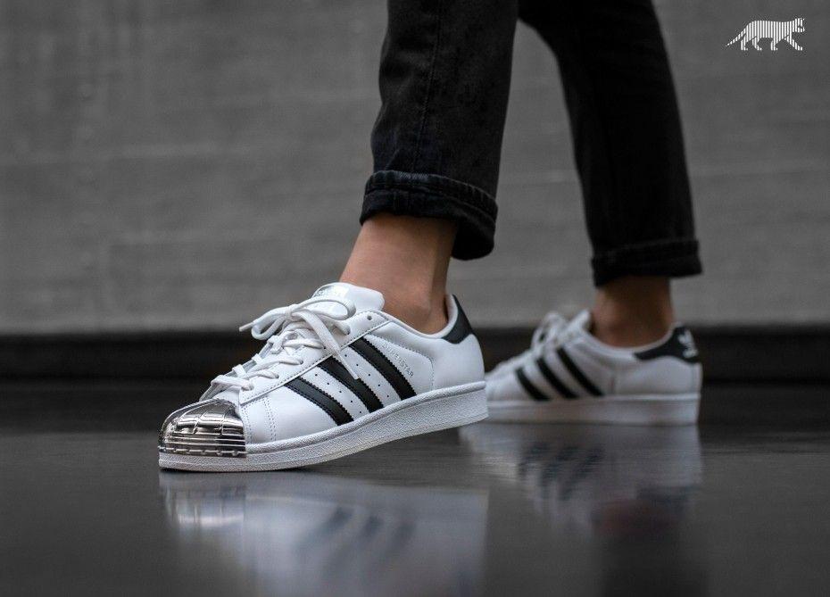 acheter en ligne 887de 79d69 Charismatique Adidas Superstar Homme Metal Toe Blanche ...