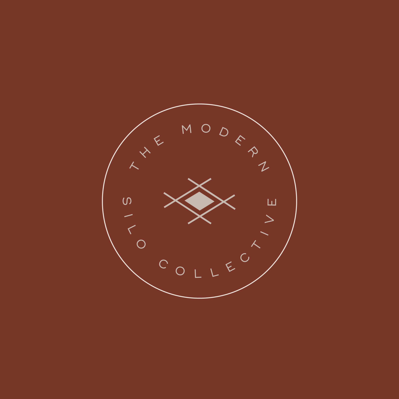 The Modern Silo Collective Logo Design With A Farmhouse Artisan