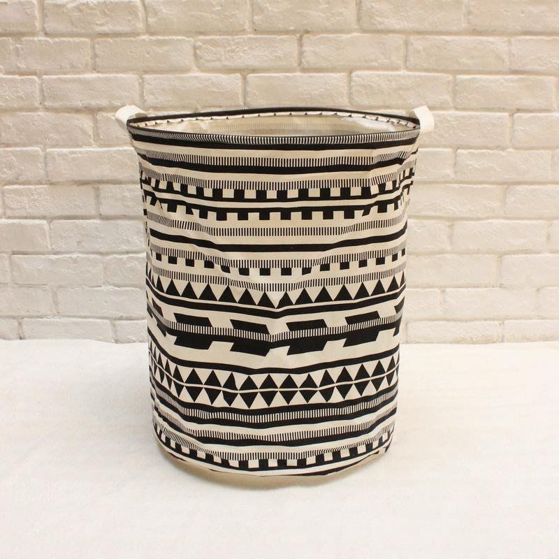 Extra Large Aztec Geometric Tribal Laundry Hamper Basket Nursery Home Decor Toy Storage Bin