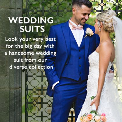 Browse Wedding Suits With Moss Bros
