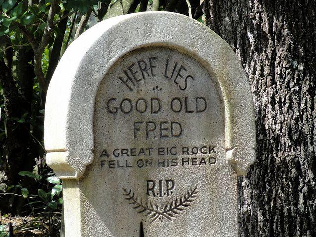 Funny Tombstones Tombstones Graveyards Pinterest