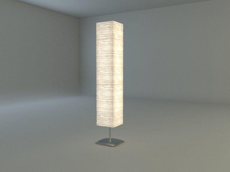 Ikea Orgel Floor Lamp 3D Model - 3D Model | 3D-Modeling | Pinterest ...