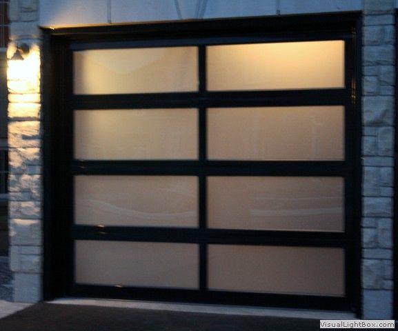 Garage Doors Modern Aluminum Glass Garage Door By Door Replacement