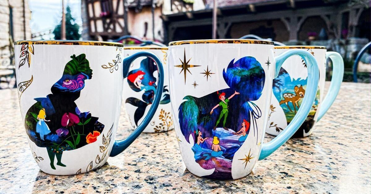 NEW Gorgeous Disney Coffee Mugs Fly Into Disneyland Paris Parks | Inside the Magic