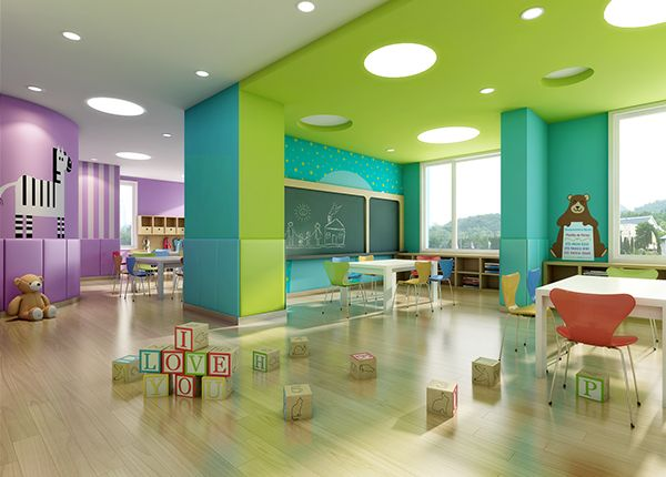 This is a high quality preschool interior design for 0 for Ausbildung interior design