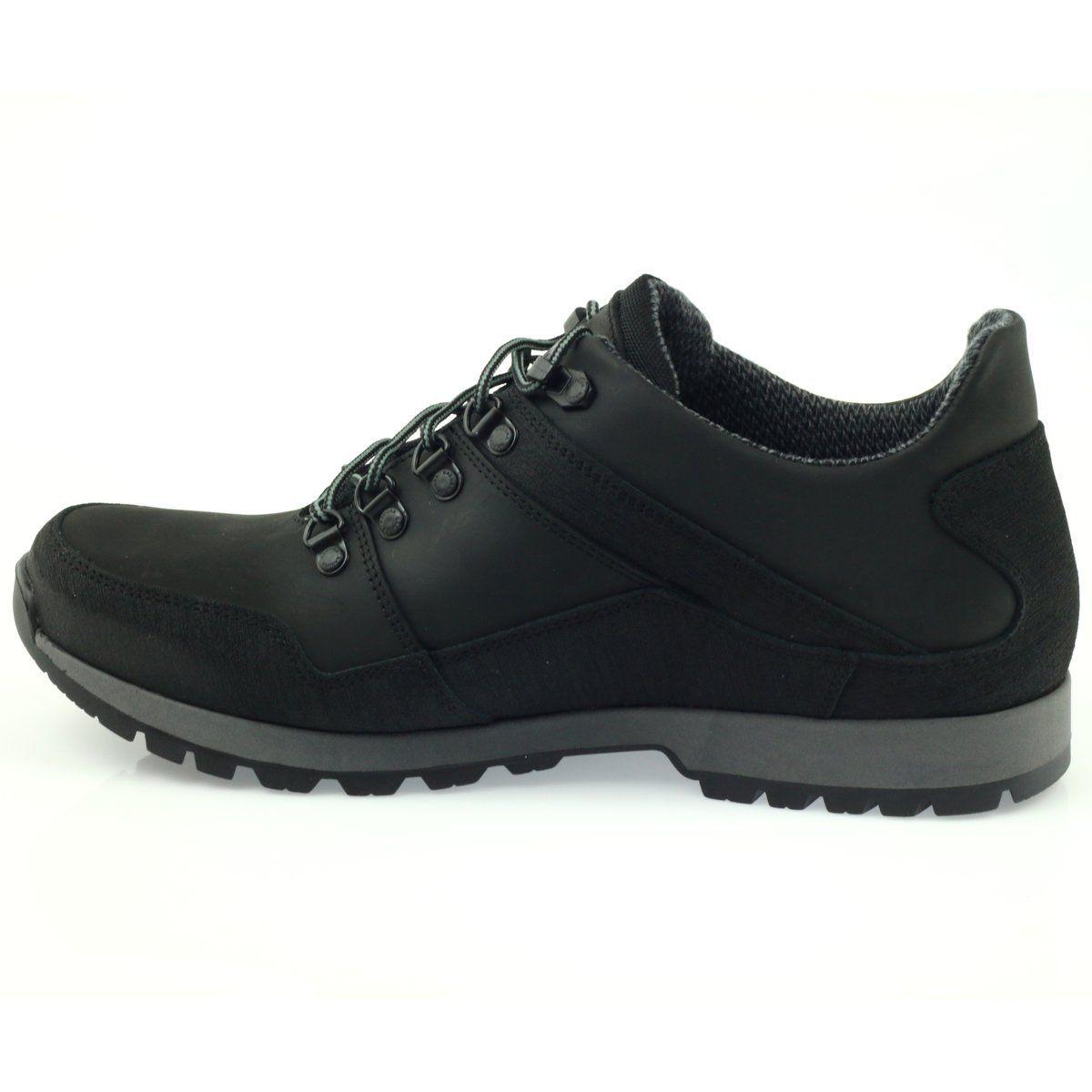 Trekkingi Z Membrana Sympatex Badura 3141 Czarne All Black Sneakers Sneakers Shoes