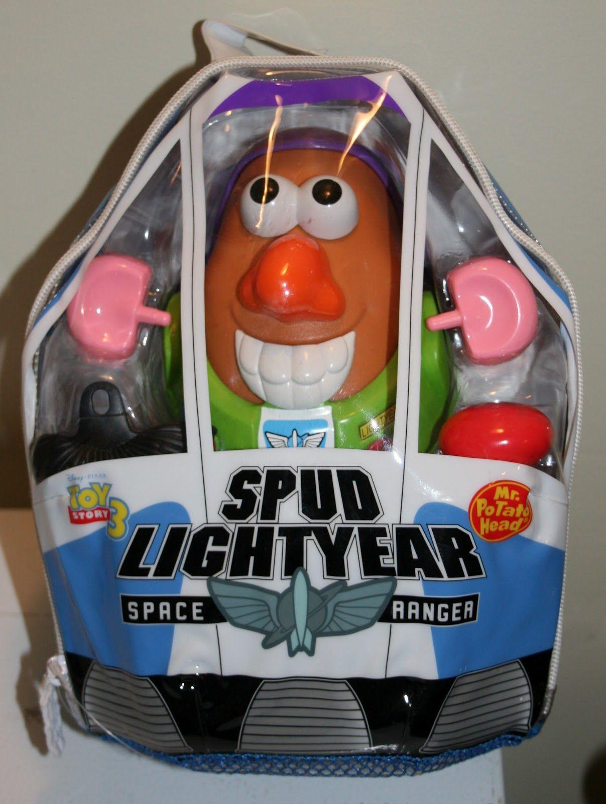 Spud Lightyear Random Potato Head Toys Disney