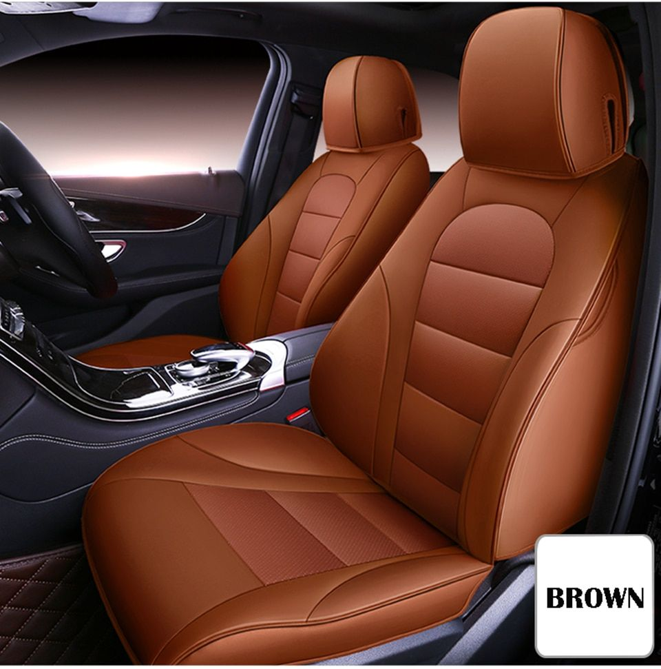 Universal Car Seat Cover In 2020 Car Seats Leather Car Seat Covers Carseat Cover