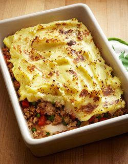 Ground Turkey Shepherd's Pie with Parmesan Mashed Potatoes | Canadian Family #shepardspie