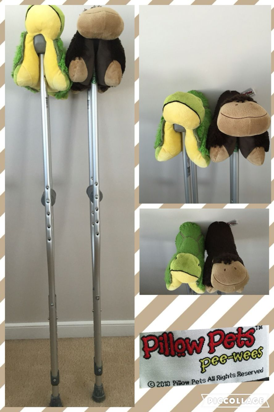I Am On Crutches A Lot Over The Years I Have Learned That If You Don T Have Enough Padding It Can Hurt Your Armpi Crutches Padding Diy Crutches Diy Crutch Pad