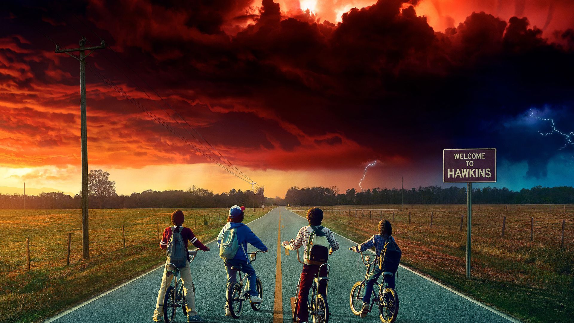 Stranger Things Desktop Wallpaper 1920x1080 Stranger Things Season 2 Laptop Full Stranger Things Wallpaper Stranger Things Season Stranger Things Season Two