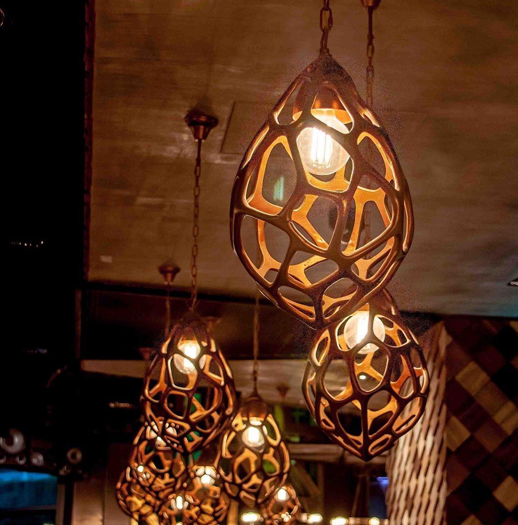skyelume design and supply of custom made led light fixtures with edison light globes