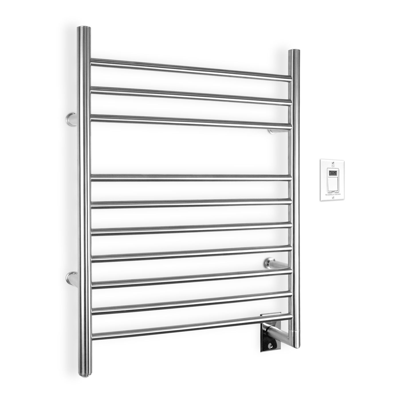 Shop WarmlyYours  TW-F10BS Infinity Towel Warmer at ATG Stores. Browse our towel warmers, all with free shipping and best price guaranteed.