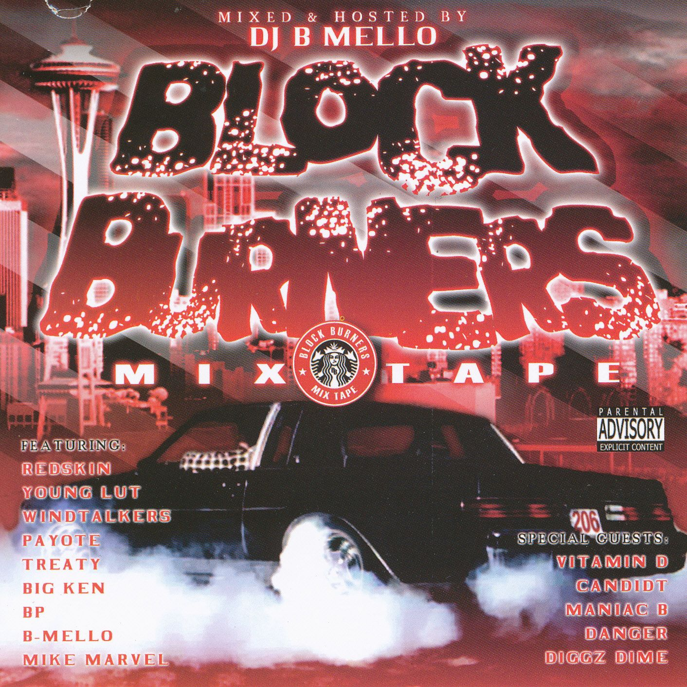 Block Burners Mixtape Hosted By DJ B Mello | PacNW Covers