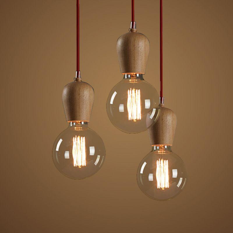 Cheap Moderna iluminación pendiente vintage para cocina retro ...