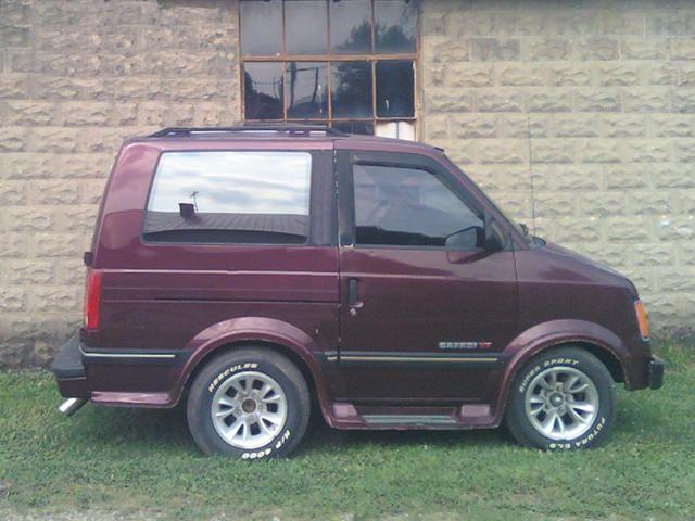 Lifted Astro Van