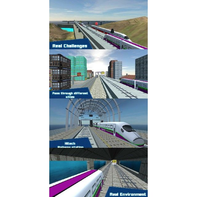 Features Of Train Games 3D - Its Free for all, No age limit