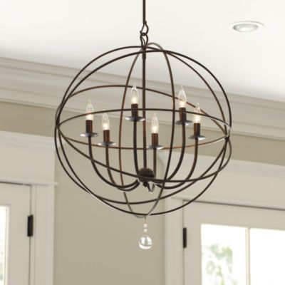 Orb Chandelier Ballard Designs 399 Dimensions Large Overall