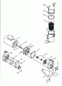 Aqua Flo Pool And Spa Pumps And Parts Aqua Flo Trap 5 1 1 2 Suction 92620000 Spa Pool Pool Pump Spa