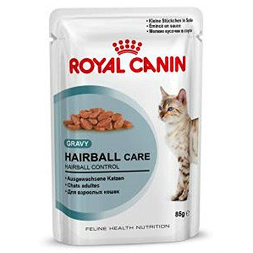 48 X 85g Pouch Royal Canin Wet Hairball In Gravy Cat Food With Gravy By Maltby S Uk Food Cat Food Coupons Food Recalls