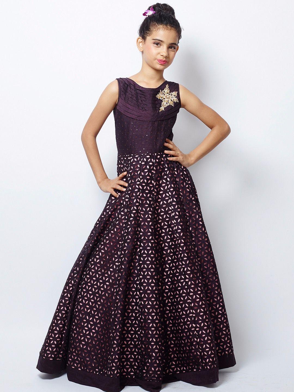 Shop G3 Exclusive designer silk party wear gown online from ...