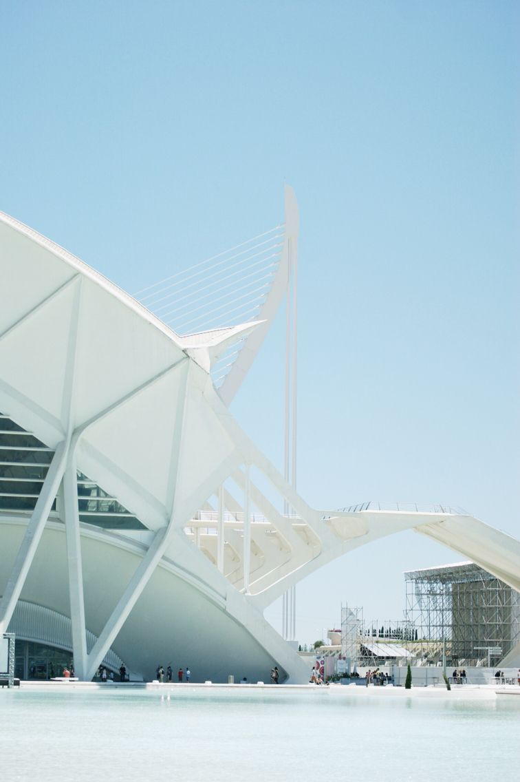 Valencia, Spain \\ #travel #spain #valencia #photography #love #modern #architecture #blue