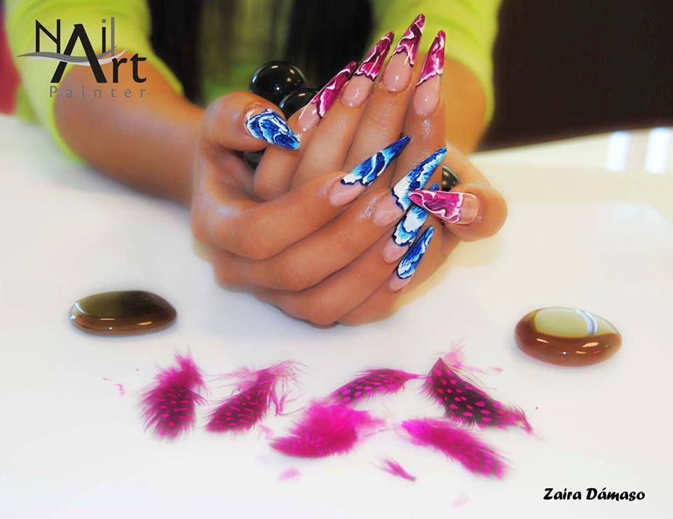 Nail Art Painter. | Nails | Pinterest | Makeup