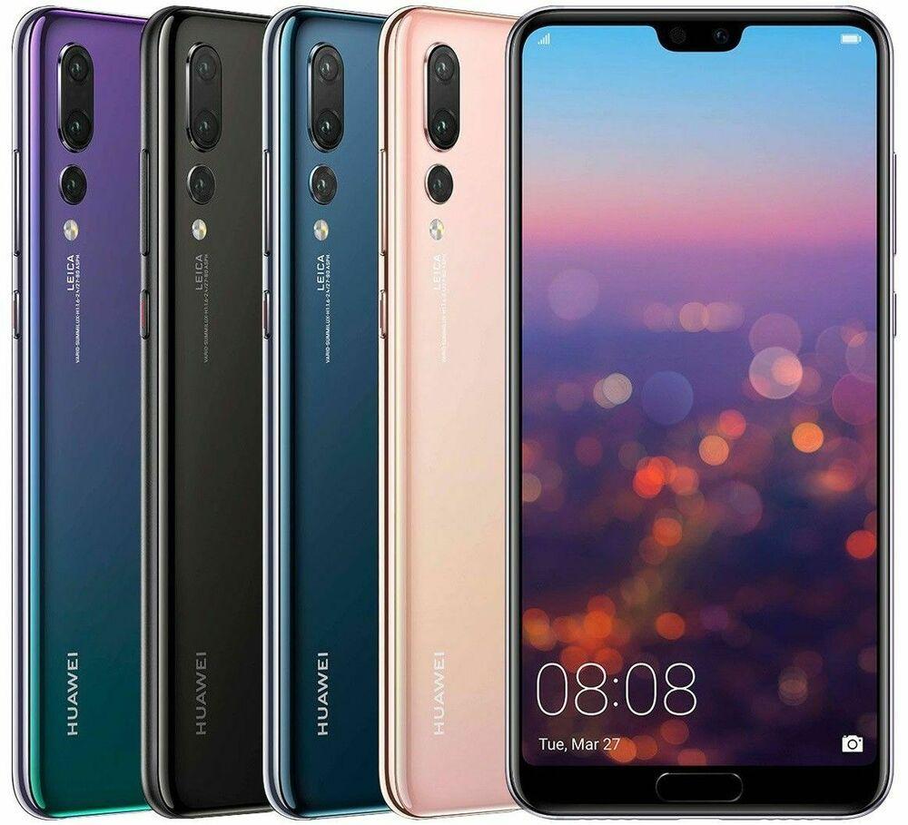 Huawei P20 Pro Clt L29 128gb Black Blue Twilight Factory Unlocked Smartphone Huawei Smartphone Unlocked Cell Phones Phone Huawei