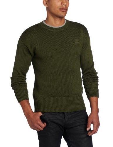 5ce8580b2 G-Star Men s CL Grade R Knit Long Sleeve Sweater