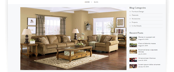 magento theme furniture store