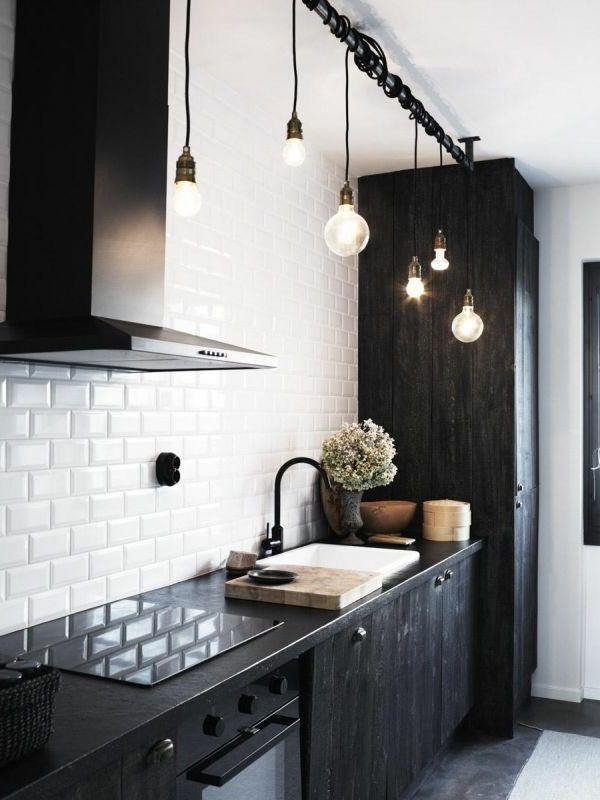 Pendelleuchten über Kochzeile oder #Esstisch sind die ideale - pendelleuchte für küche
