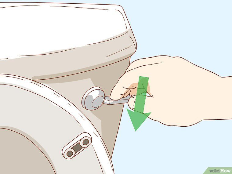 Clean Metal Marks off a Porcelain Toilet  How to clean